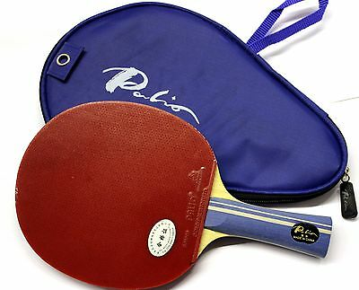 Palio 2Star Expert Table Tennis Bat with Free Case, New