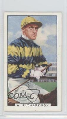 1936 Gallaher Famous Jockeys Tobacco Base 30 A Richardson A. MiscSports Card 1x2