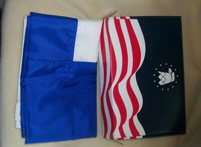 Annin Sweden 3x2 NYL-GLO Nylon Bunting Flag Made in the USA New
