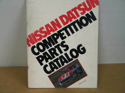 Datsun/nissan Motorsports Competition Catalog