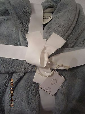 Pottery Barn Cozy Robe-Small-Porcelain Blue-Nwt