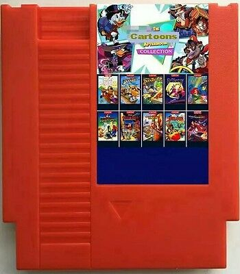 Afternoon Cartoons Collection 117 in 1 Custom Nes Multicart Cdn Seller Super Gam