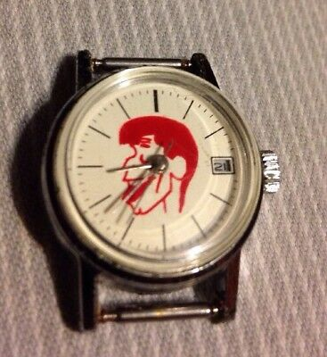 Jerry Lewis Watch For Glioblastoma Brain Cancer  Vintage  Wind Works Great Japan