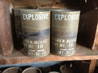 Grenade Containers Mancave, Rare