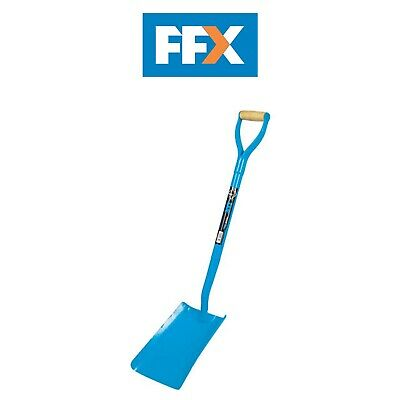 Ox Tools T280701 Trade Solid Forged Square Mouth Shovel - 250mm x 300mm