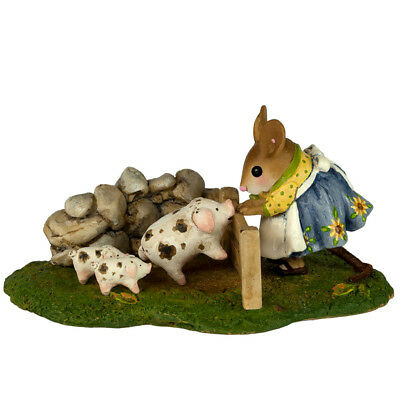 Wee Forest Folk M-466c Piggy Petting Zoo - Limited 1 Year