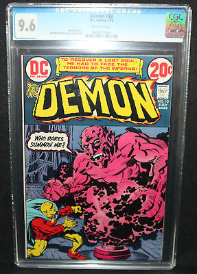 Demon #10 - Jack Kirby Story and Art - CGC Grade 9.6 - 1973