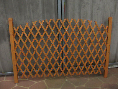 Wooden Diagonal Lattice Expanding Trellis - Not available at this time.
