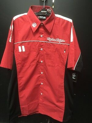 Troy Lee Designs Team Shirt Red adults MEDIUM