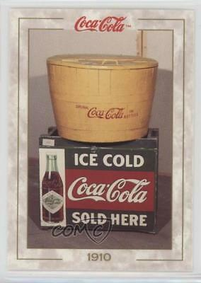 1993 Collect-A-Card The Coca-Cola Collection Series 1 #15 Early Tub Cooler 0t2