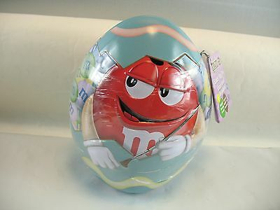 M&M's Easter egg tin with tag sealed