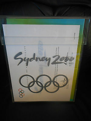 Collectors Set of 29 Programs of Sports of the SYDNEY 2000 OLYMPIC GAMES