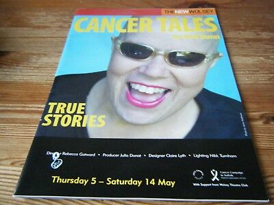 2005 - Theatre  Programme  - Cancer Tales- True Stories - New Wolsey - Ipswich