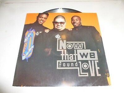 """HEAVY D AND THE BOYZ - Now That We Found Love - 1991 3-track 12"""" Vinyl Single"""