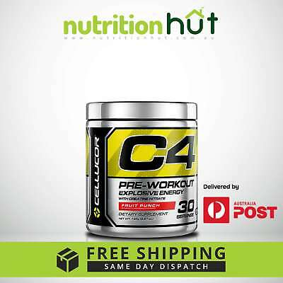 Cellucor C4 30 Servings G4 Series Pre Workout BCAA