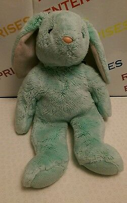 Ty Hippity Beanie Buddies Mint Green Bunny Rabbit 1998 Used No Tag No Bow