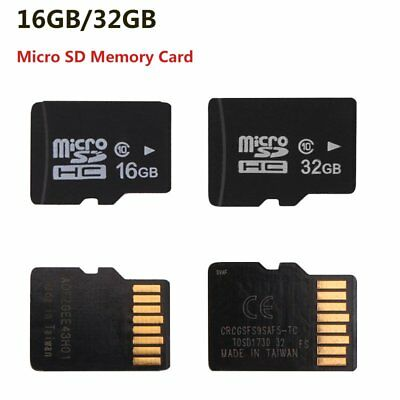 32G/16G Micro SD Cards Adapter Memory Card 80 MB/s For Smartphone Camera Car DVR