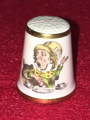 FINGERHUT Royal Crafton Alice Thimbles The Mad Hatter