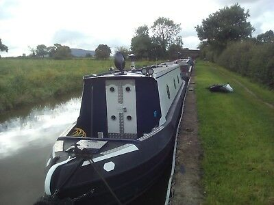 All Steel  42ft fully fitted Narrow boat 2010