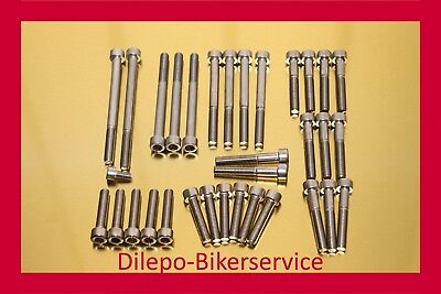 Suzuki DL 1000 DL1000 V-Strom stainless steel bolt kit motor engine 2013-2016