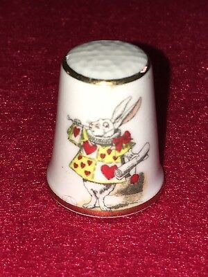 FINGERHUT Royal Crafton Alice Thimbles The Herald