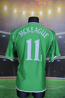 Ireland Eire Umbro 2001-03 Mckeague #11 Home Football Shirt (Xl) Jersey Trikot