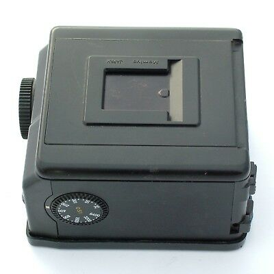 Mamiya 645 Super 120 Back N, excellent condition (also for Pro, ProTL)
