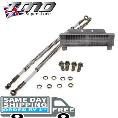 High Flow PSI Pit Bike YX150 Oil Cooler Radiator Kit Quad Engine 150cc - 170cc