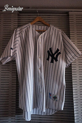 Vintage Darryl Strawberry Authentic New York Yankees Baseball Jersey