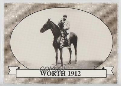1991 Horse Star Kentucky Derby #38 Worth MiscSports Card 2i6