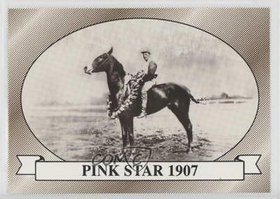 1991 Horse Kentucky Derby #33 Pink Star 1907 MiscSports Card 2i6