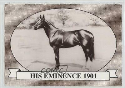 1991 Horse Star Kentucky Derby #27 His Eminence 1901 MiscSports Card 2i6