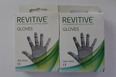 Revitive The Original Circulation Booster Gloves - Please Choose Size:
