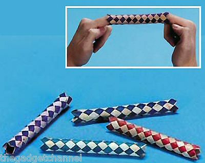 Bulk Wholesale Chinese Finger Traps Childrens Party Bag Filler Toy Gift