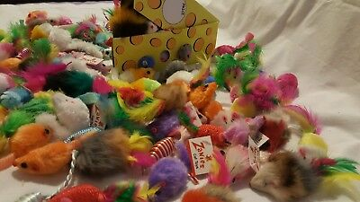 Cat toys - mixed bulk lot
