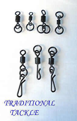 Flexi Ring, Chod, Double Ring, Heli, Flexi Quick Change Swivels - Carp Tackle