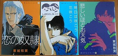 LOT 3 MANGAS JAPONAIS  Tome 2 - 3 - 4 - VO JAPAN - Wings Comics