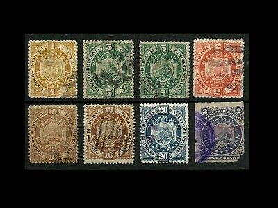 Bolivia Stamps Used #RV11