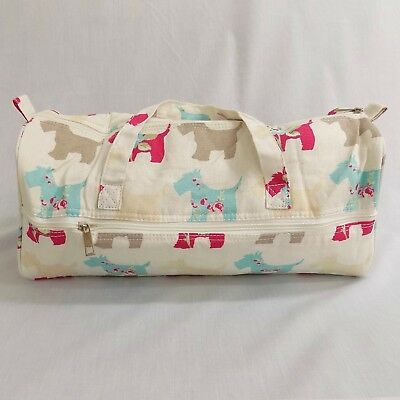 Scottie Dog Knitting Needle Project Bag with pocket, Sewing, Crochet, Yarn