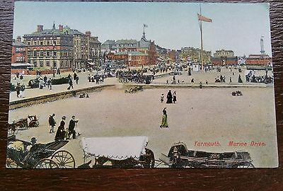 Great Yarmouth Marine Drive Postcard
