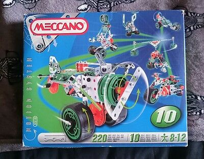 Meccano motion set 5510 - complete*