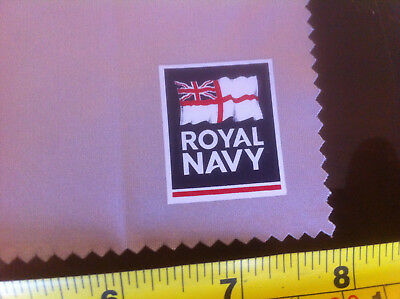 Royal Navy Official Glasses Cleaning Cloth Wipe Clean Spectacles Navy England