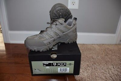 14f1392516c6 Merrell Men s MOAB 2 Tactical Shoes Size 10W Brindle NEW IN BOX J15863W