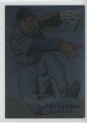 1998 Metal Universe #208 Derek Jeter New York Yankees Baseball Card