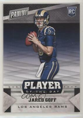 cb9ce2a3 2016 PANINI INSTANT NFL Football #228 Jared Goff Rookie Card Rams ...