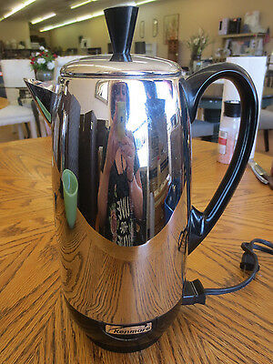 Vintage Kenmore KCP12 Stainless 12 Cup Percolator Coffee Maker