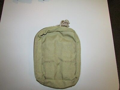 Eagle Industries Khaki SOFT Medical Pouch 2007 NSN SFLCS Medic NOS