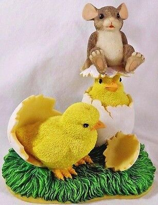 Charming Tails Figurine What's Hatchin' Easter