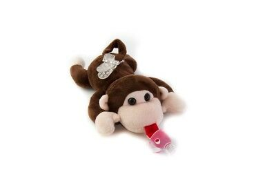 Paci-Plushies monkey Buddies - Pacifier Holder (Plush Toy Use with Multiple