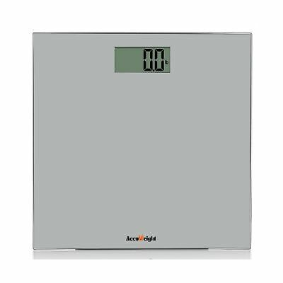 Accuweight Digital Bathroom Weight Scale with Smart Step-on Technology 400lb/...